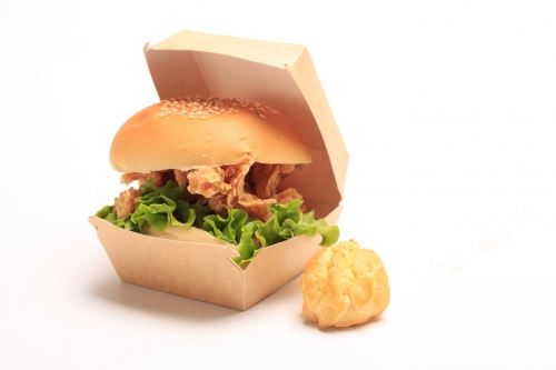 Hamburger box