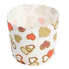 High temperature resistant baking cup