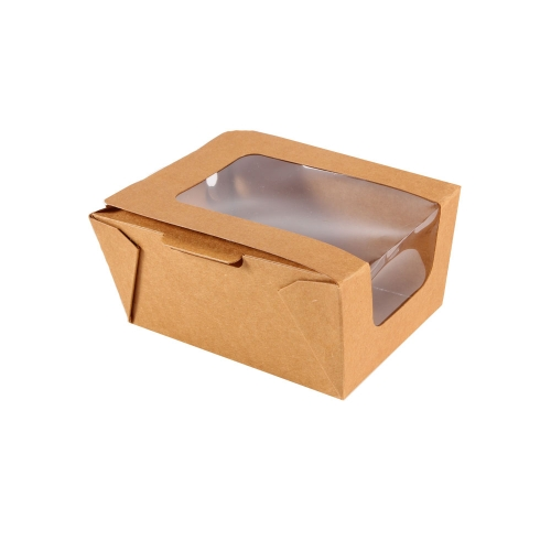 Salad box with window