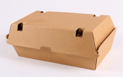 Corrugated lunch box