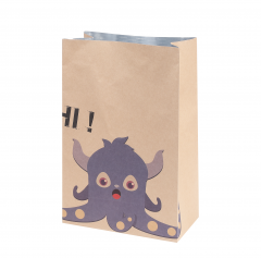 Heat preservation packaging paper bag